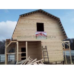Дом из бруса 150х150 в Тульской области в Заокском районе
