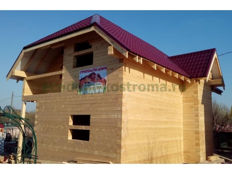 Дом из профилированного бруса в Калужской области