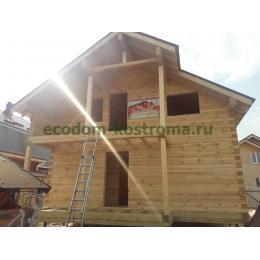 Дом из профилированного бруса в Подольске апрель 2021