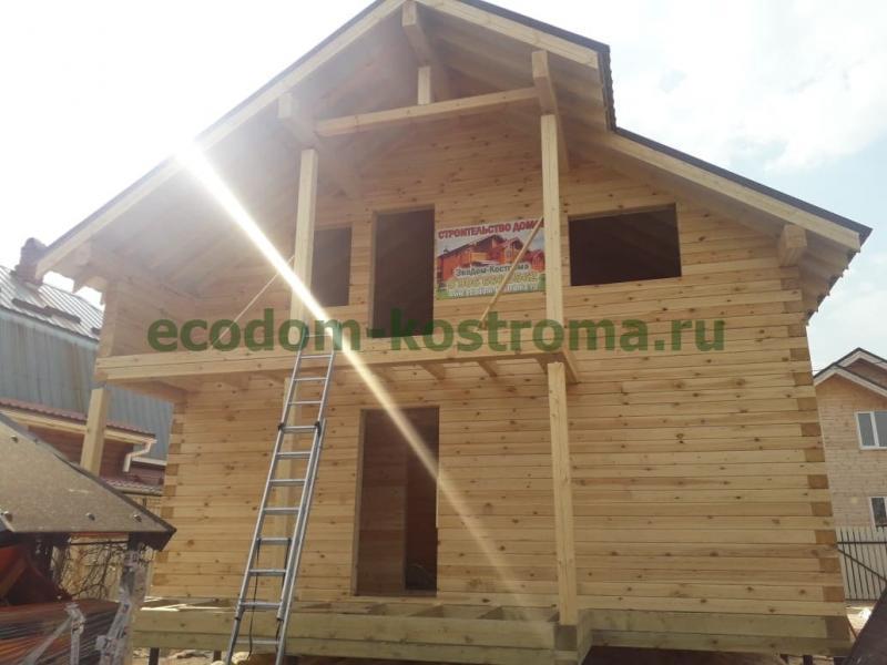 Дом из профилированного бруса в Подольске