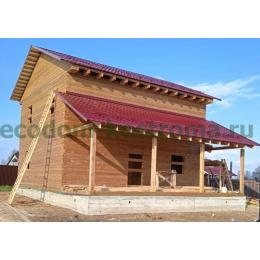 Дом из профилированного бруса камерной сушки в Серпуховском районе МО апрель 2021