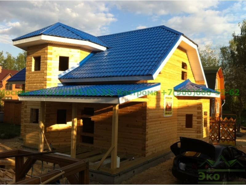 Дом из бруса г. Электрогорск Московская область