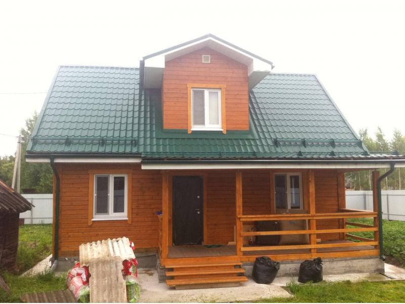 Дом из бруса Орехово-Зуевский р-он, Московская область село Северное Чистое