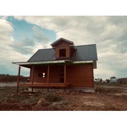 Дом из профилированного бруса 145х190мм в Тверской области Нелидовский район май 2020