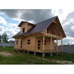 Дом из профилированного бруса в Раменском МО май 2021