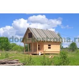 Дом из обрезного бруса в Иваново май 2021