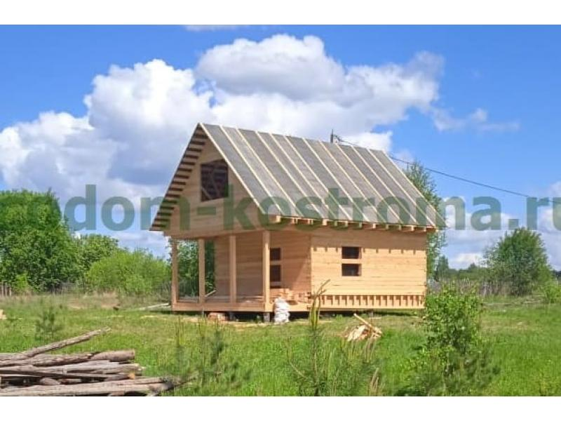 Дом из обрезного бруса 150х150мм в Иваново