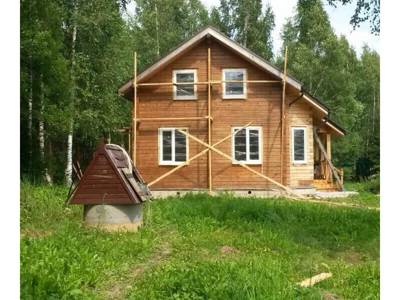 Дом из костромского бруса г. Зеленоград