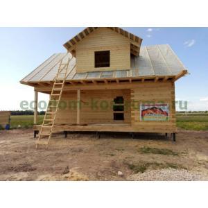 Дом из профилированного бруса в Рязанской области