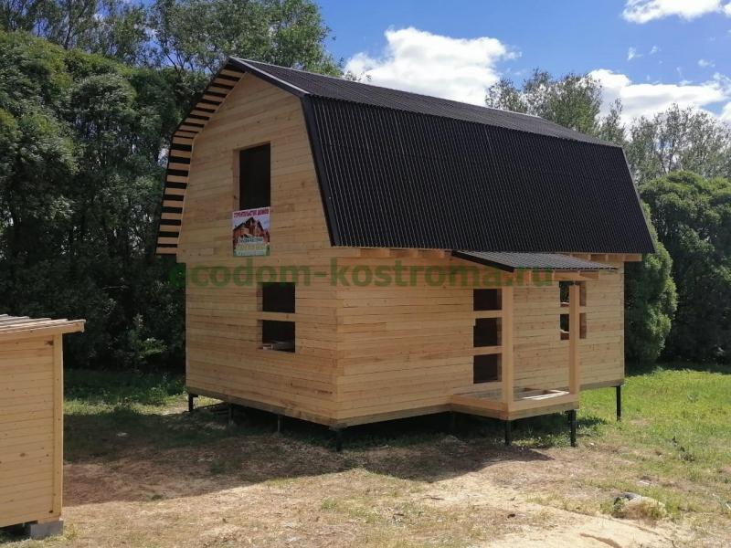 Дом из строганного бруса в Тверской области