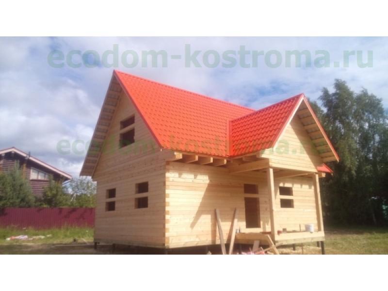 Дом из профилированного бруса Серпухов