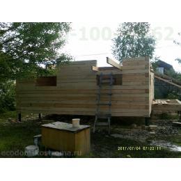 Дом из бруса под усадку Клинский район Московской области