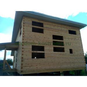 Дом из бруса камерной сушки 145х145мм в Подольске июль 2020
