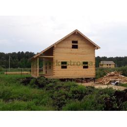 Дом из профилированного бруса в Одинцовском районе МО июль 2021