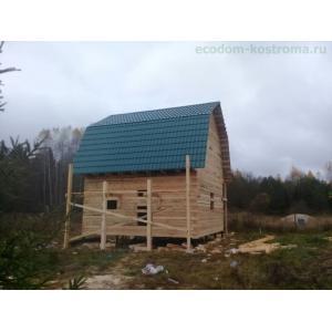 Дом из бруса под усадку в Ногинском районе