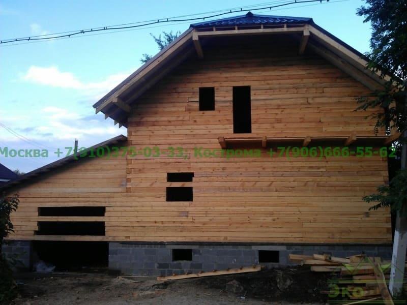 Дом из бруса г. Коломна Московская область