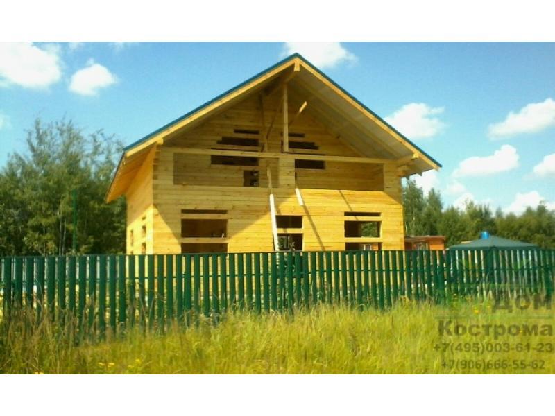 Дом из бруса Тульская область Заокский р-он