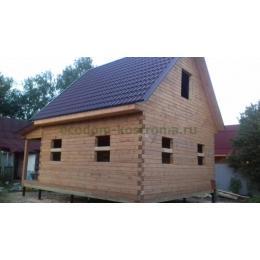 Дом из бруса под усадку в Электрогорске