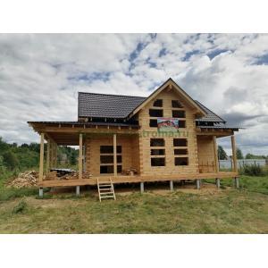 Дом из профилированного бруса Одинцовский р-он МО август 2021
