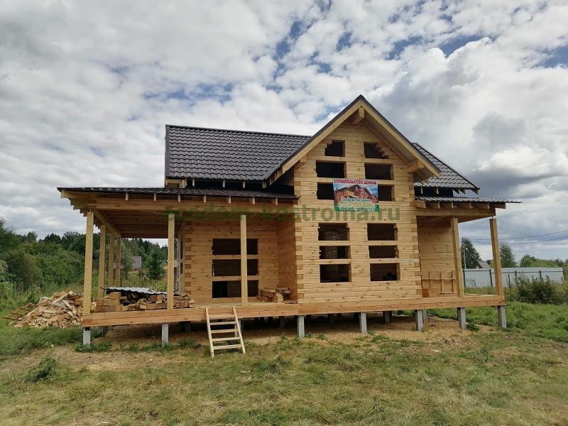 Дом из профилированного бруса в Одинцовском районе Московской области
