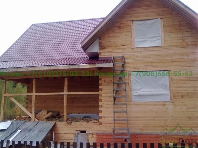 Дом из бруса Рязанская область, г. Сасово