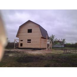 Дом из бруса г. Липецк по проекту ДБ-85