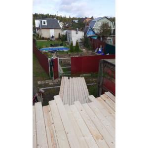 Дом из профилированного бруса камерной сушки 145х145 Солнечногорский район МО сентябрь 2019
