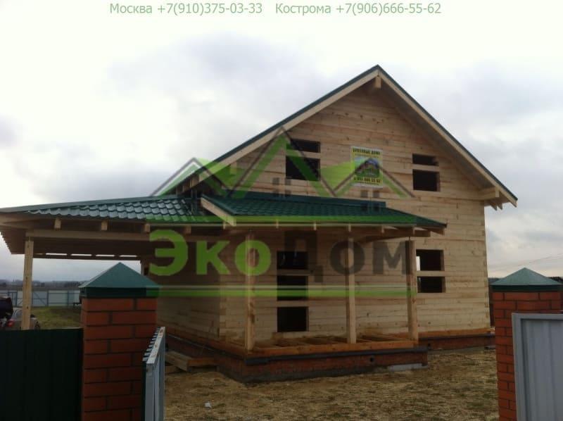 Дом из бруса Дмитровский р-он Московская область