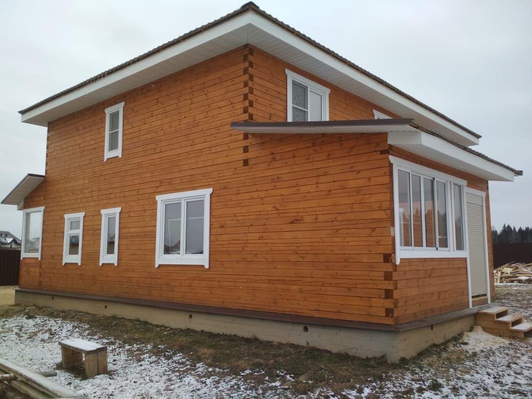 Дом из профилированного бруса в Московской области