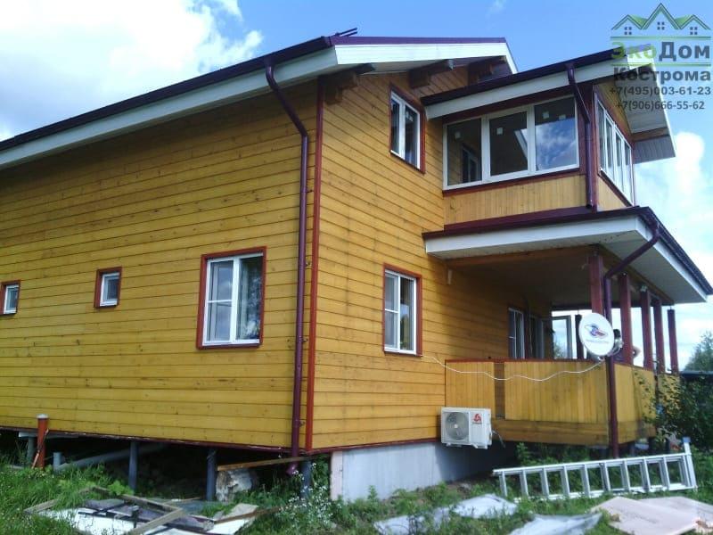 Дом из бруса Истринский р-он Московская область