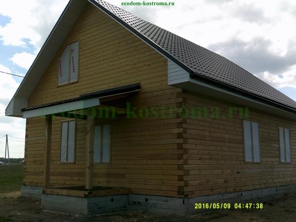 Дом из профилированного бруса в Муроме Владимирской области