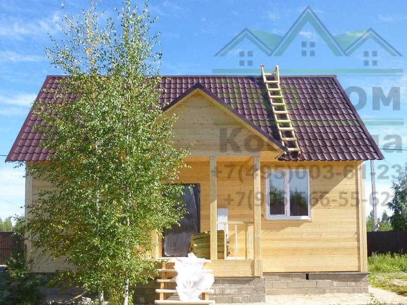 Дом из бруса в Калужской области город Обнинск